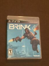 Sony PlayStation PS3 Video Game Brink Rated T