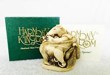 Retired Harmony Kingdom Antipasto Anteater Ants Box Figurine Treasure Jest Mint