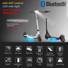 """8.5"""" Folding Electric Scooter Trend 350w Black 7.5AH 30km/h APP Adult E-scooter"""