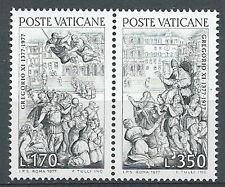1977 VATICANO GREGORIO XI DA AVIGNONE A ROMA MNH ** - ED