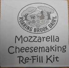 Roaring Brook Dairy Mozzarella Cheese making Re-fill kit