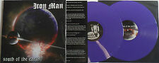 LP IRON MAN South Of The Earth - PURPLE VINYL - (2LP) - RISELP170 - STILL SEALED