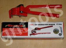 3IN1 MECHANIC COPPER PIPE BENDER 6mm 8mm & 10mm BRAKE FUEL PIPE