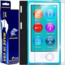 ArmorSuit MilitaryShield Apple iPod Nano 7th Gen Screen + Black Carbon Fiber