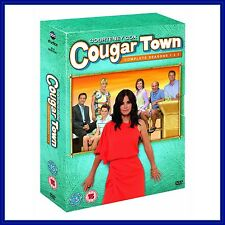 COUGAR TOWN - COMPLETE SEASONS 1 2 & 3  **BRAND NEW DVD BOXSET  **
