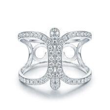 18ct White Gold Stunning Italian Diamond Ring GBP 3500