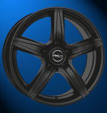4x NEUE Proline CX200 8J X 18 Zoll Alufelgen LK 5 X 120 ET 35 black matt