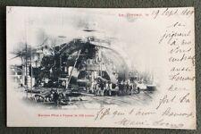 CPA. LE CREUSOT. 71 - Précurseur 1899. Marteau Pilon à Vapeur de 100 tonnes.