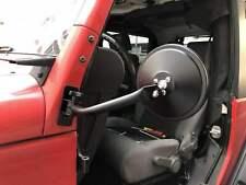 Pair Quick Release Door Side Mirrors For Jeep Wrangler 97-06 Tj 07-18 Jk Jku