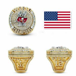 NFL 2020-2021 Tampa Bay Buccaneers LV Super Bowl World Championship Ring BRADY