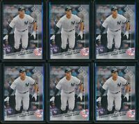 2017 Topps Now Aaron Judge RC #630 Rookie 6 Card Lot New York Yankees NYY