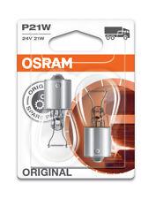 Osram P21W 24v 21W (241) Commercial Vehicle Rear Bulbs BA15s (x2) 7511-02B