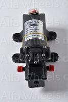 RV Marine Boat 12V 1.2GPM 35PSI Water Pressure Diaphragm Self Priming Pump 12 V