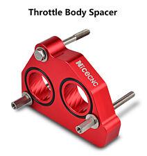 Red Throttle Body Spacer Aluminum For Chevrolet C1500 C2500 C3500 4.3 5.0 5.7L