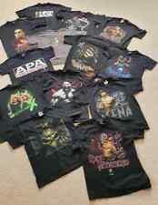 Bundle 13 vintage t shirts RARE DX HHH APA KANE ROCK REY etc WWF/WWE/WCW/ECW