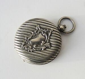 Porte Louis monnaie sous ancien XIXe métal argenté