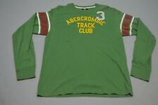 "abercrombie Mens t shirt Size XL Green ""C"""