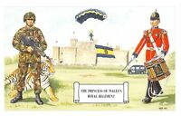 Postcard The Princess of Wales's Royal Regiment at Dover Castle by Geoff White