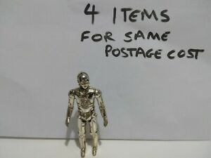 Vintage Star Wars Original C-3PO Figure Fixed Limbs