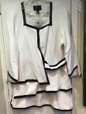 Mother of Bride Groom Dress White Skirt suit Women's Wedding evening plus 26W 3X