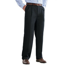 New Croft & Barrow Men Classic-Fit Pleated Microfiber Dress Pants Size 36-40 $55