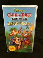 DISNEYS CHIP N DALE RESUE RANGERS VHS – DANGER RANGERS