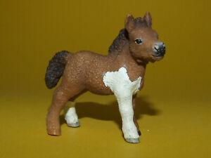 6) Schleich Schleichpferd Horse Pferd - Shetland Pony Shetty Fohlen 13752 top