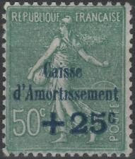 """FRANCE STAMP TIMBRE N° 247 a """" CAISSE AMORTISSEMENT VARIETE """" NEUF xx TTB K218"""