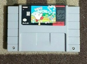 Super NES Kirby's Avalanche (Super Nintendo) VG Shape & Tested Game Only