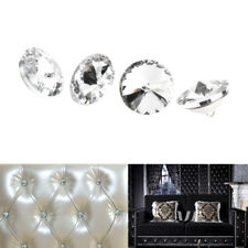 Womens Diament Crystal Diamond Effect Chair Soft Headboard Upholstery