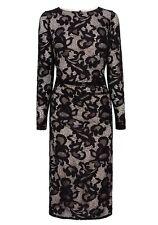 BNWT🌹COAST🌹Size 10 CORALLA BLACK FLORAL LACE FITTED PENCIL DRESS (38EU) New
