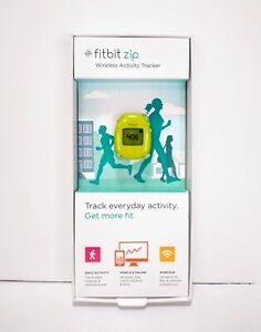 PARTS / REPAIR - Fitbit Zip Wireless Activity Tracker - Lime Green Step Counter