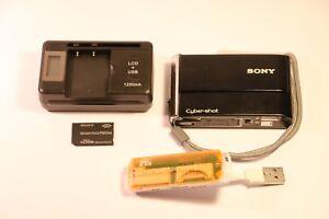 Sony Cyber-shot DSC-T70 8.1MP Digital Camera - Black ( CARL ZEISS LENS )