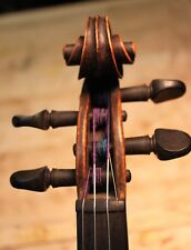 Antique French Salzard 4/4Violin ~1840 One piece flamed maple back!