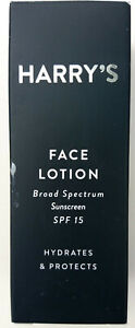 HARRY'S Face Lotion Broad Spectrum Sunscreen SPF 15 50ml