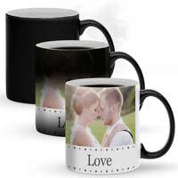 MAGIC MUG, Personalised Coffee Mugs, Birthday, Gift, Fathers Day, Heat Sensitive