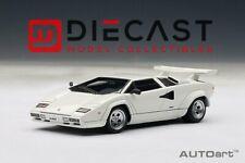 Autoart Aa54533 Lamborghini Countach 5000s 1982 White 1 43 Modellino Die Cast