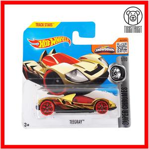 Teegray HW Super Chromes 1/10 Track Stars 36/250 Diecast Hot Wheels Mattel