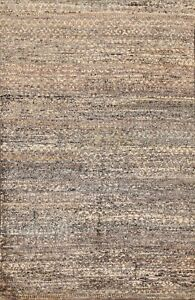 Abstract MOROCCAN Oriental Area Rug Hand-knotted Contemporary Carpet 5x8 ft