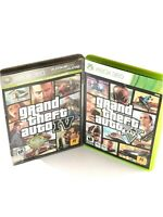 Grand Theft Auto: IV and V - (Microsoft Xbox 360) GTA V Complete w/map, *TESTED*