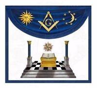 """Blue Lodge Lights"" Master Mason Apron"