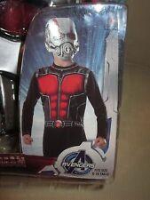 MARVEL COMICS ANT MAN costume JUMPSUIT and MASK BOYS MEDIUM size 8-10