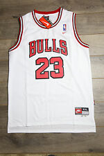 Michael Jordan Jersey #23 Chicago Bulls Hardwood Classics Swingman Retro White