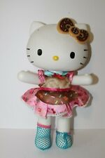 "2013 Blip Sanrio Hello Kitty 13"" Doll Toy - Hard Plastic - Donut Bow Candy Dress"