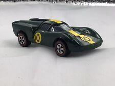 1970 Hot Wheels Lola GT70 (Enamel Green) (Redline) (U.S.)