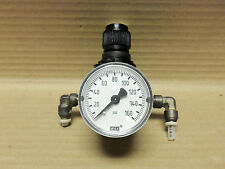 ARO AIR REGULATOR AND GAUGE W/BRACKET 0-160 PSI 127122-000
