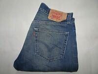 """LEVIS 501 Mens Jeans Blue Denim Straight Leg SIZE W34 L34 Waist 34"""" Leg 34"""" LEVI"""