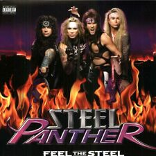 Steel Panther FEEL THE STEEL +MP3s GATEFOLD New Sealed Purple Colored Vinyl LP