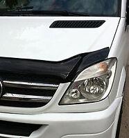 Bonnet Trim Protector Guard Wind Deflector To Fit Mercedes-Benz Sprinter 06-13