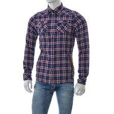 scotch&soda Hombre Camisa Informal Talla M manga larga de algodón botón